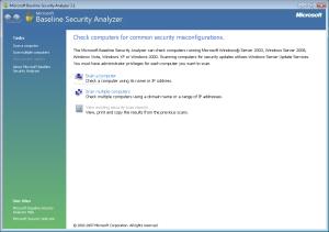 Microsoft-Baseline-Security-Analyzer