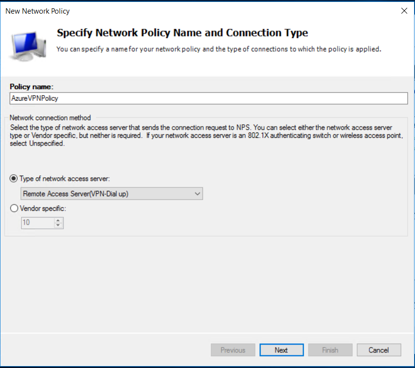 Azure Point-to-Site VPN with RADIUS Authentication « The